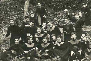 Alumnos do Seminario de Mondoñedo