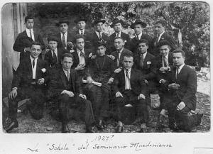 Schola del Seminario.1927