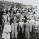 Aumnos de 1º y 2º. 1953
