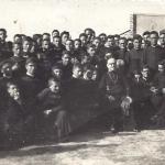 Curso 1951-52 Campamento de la Devesa Con el Excmo Sr. Obispo D. Mariano Vega Mestre
