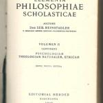 Elementa PHILOSOPHIAE SCHOLASTICAE