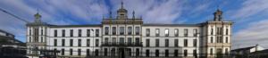 Fachada principal del Seminario Menor diocesano de Lugo