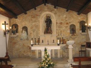 Fachada de la capilla de San Roque, en Viveiro